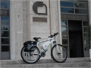 Arctic Bike at National Research Center in Rome