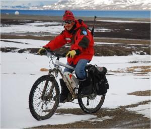 "Arctic Bike at CNR base ""Dirigibile Italia"" – Ny Alesund - Svalbaard islands - Norway"