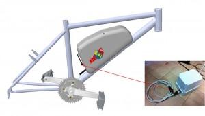 Arctic Bike battery charging