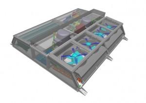 Tram Sirio Athens - HVAC System Roof Module