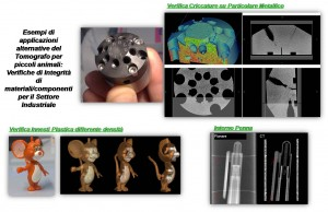 Industrial applications for the Tomograph