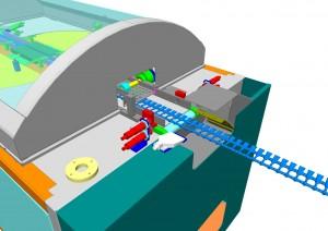 Mono-use ampoules control machine - Detail