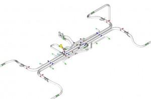 Tram Sirio - Piping for refrigerating fluid distribution