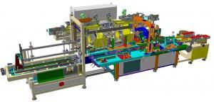 Cartoner Machine for long pasta