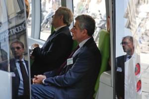 Mobilitytech 2012 – Ing. Mauro Moretti  andOn. Antonio Tajani onboardl VIP