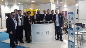 Stand DITECFER EurasiaRail 2015